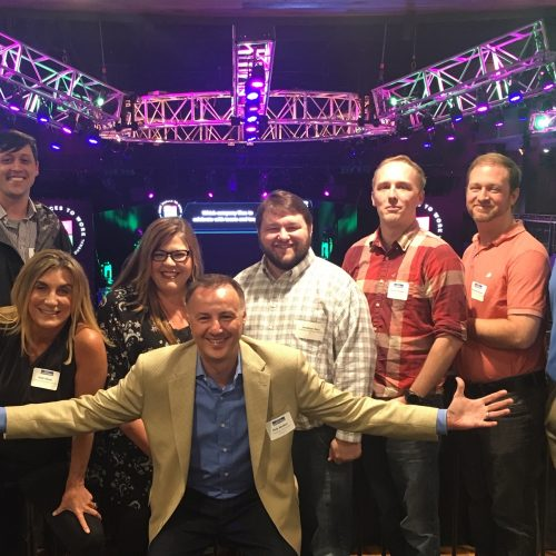 Celebrating with some of the S3 team after winning Middle TN's Best Places to Work (for the 2nd year).